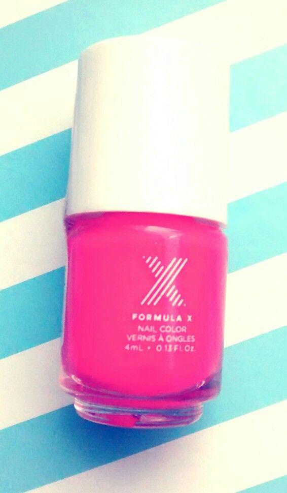 Laca de uñas Formula X, mini | Mis lacas de uñas | Pinterest