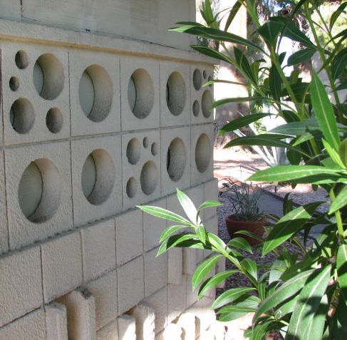Decorative Concrete Block Designs Create A Mold And Make Your Own