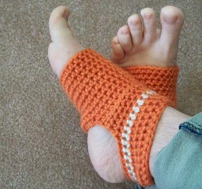 Hooked On Handmade Yoga Sock Pattern Free Crochet Pinterest