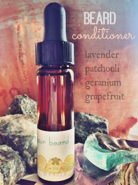 Beard Conditioning Elixir - just  in time for your Valentine!