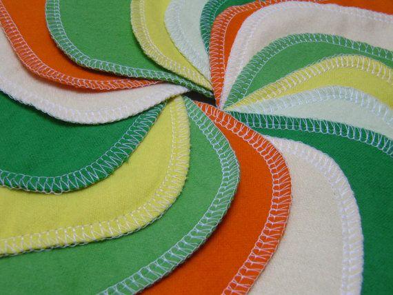 Cloth  Napkins Unpaper Napkins 20 Citrus Burst by GreenLittleNest, $22.00