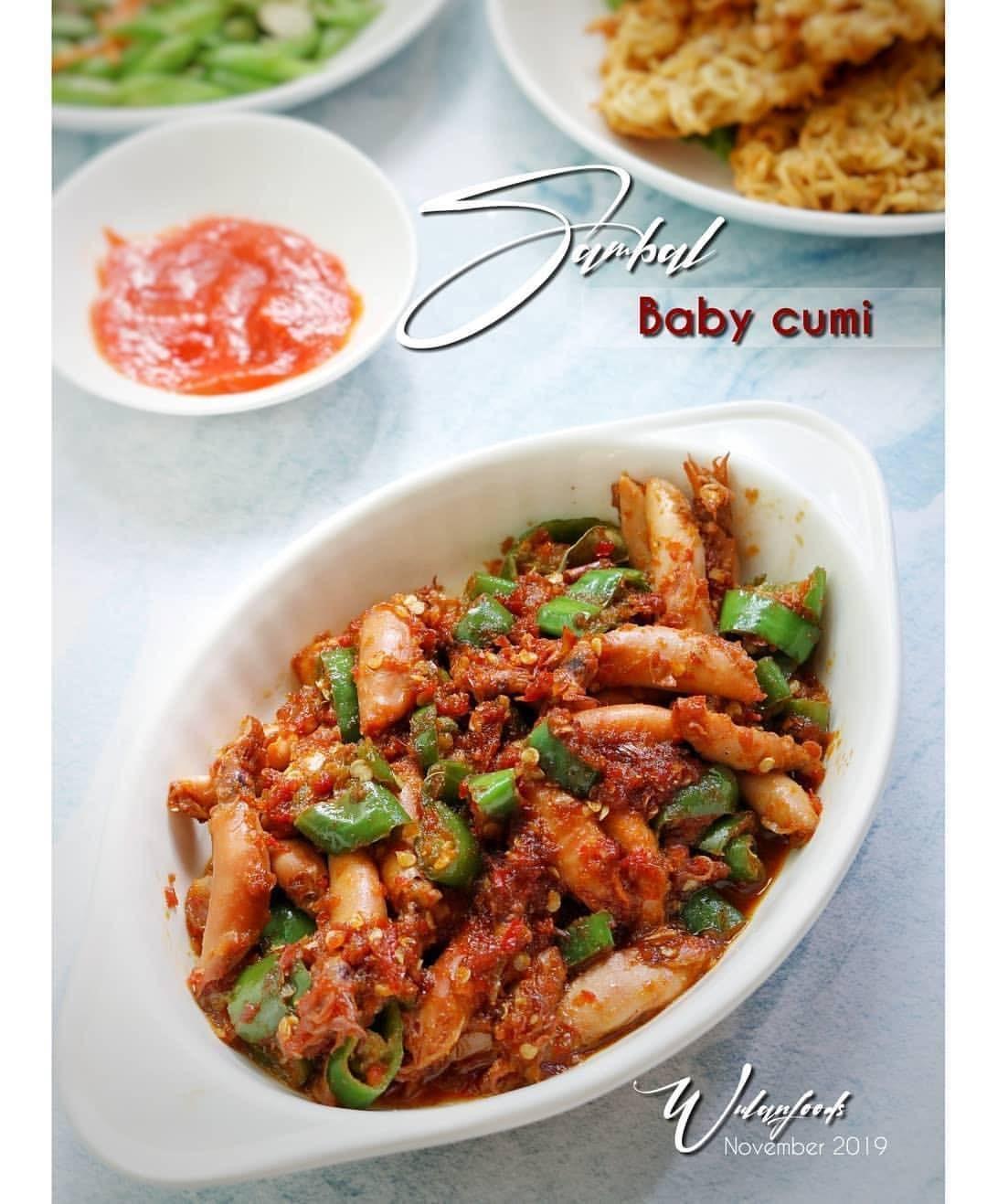 Resep Sambal Baby Cumi : resep, sambal, RecipEs_MaiN_CourSe