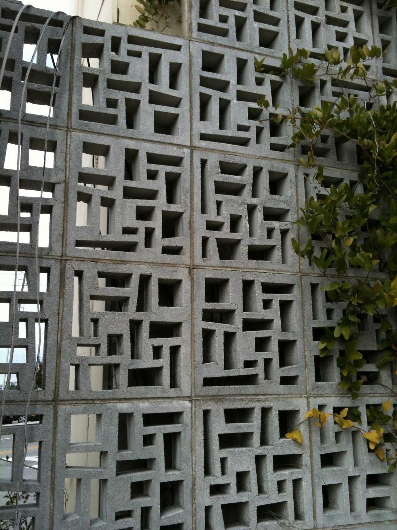 The Design Supporting The Provider Comes Out In Every Aspect On The Site The Site Design Is Quite S Decorative Concrete Blocks Breeze Block Wall Breeze Blocks