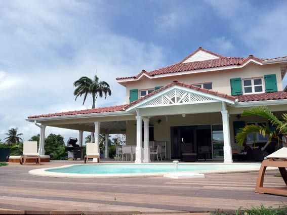 deck-general et piscine Maisons Antilles Pinterest Bora bora