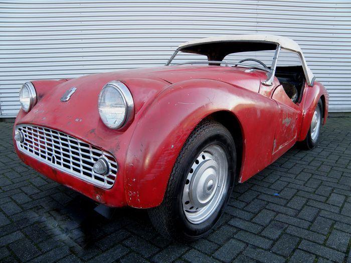 Triumph TR3A - 1958