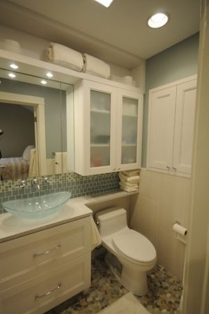 Small bathroom space design pictures remodel decor and for Condo bathroom remodel ideas
