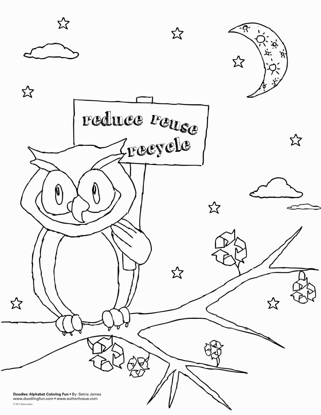 Recycling Coloring Page   Coloring Pages   Pinterest