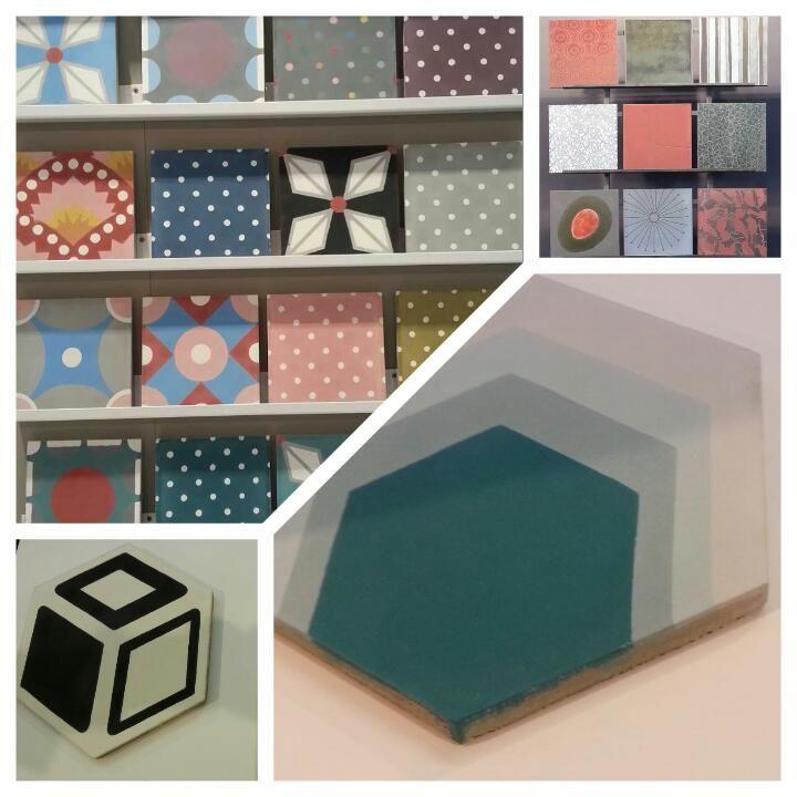 carreau, ciment, carrelage, petit pan, couleur, motif, design - carrelage salle de bain petit carreaux