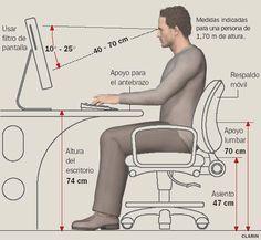 Medidas ergonomicas para un escritorio pesquisa google for Cual es la medida de una cama queen
