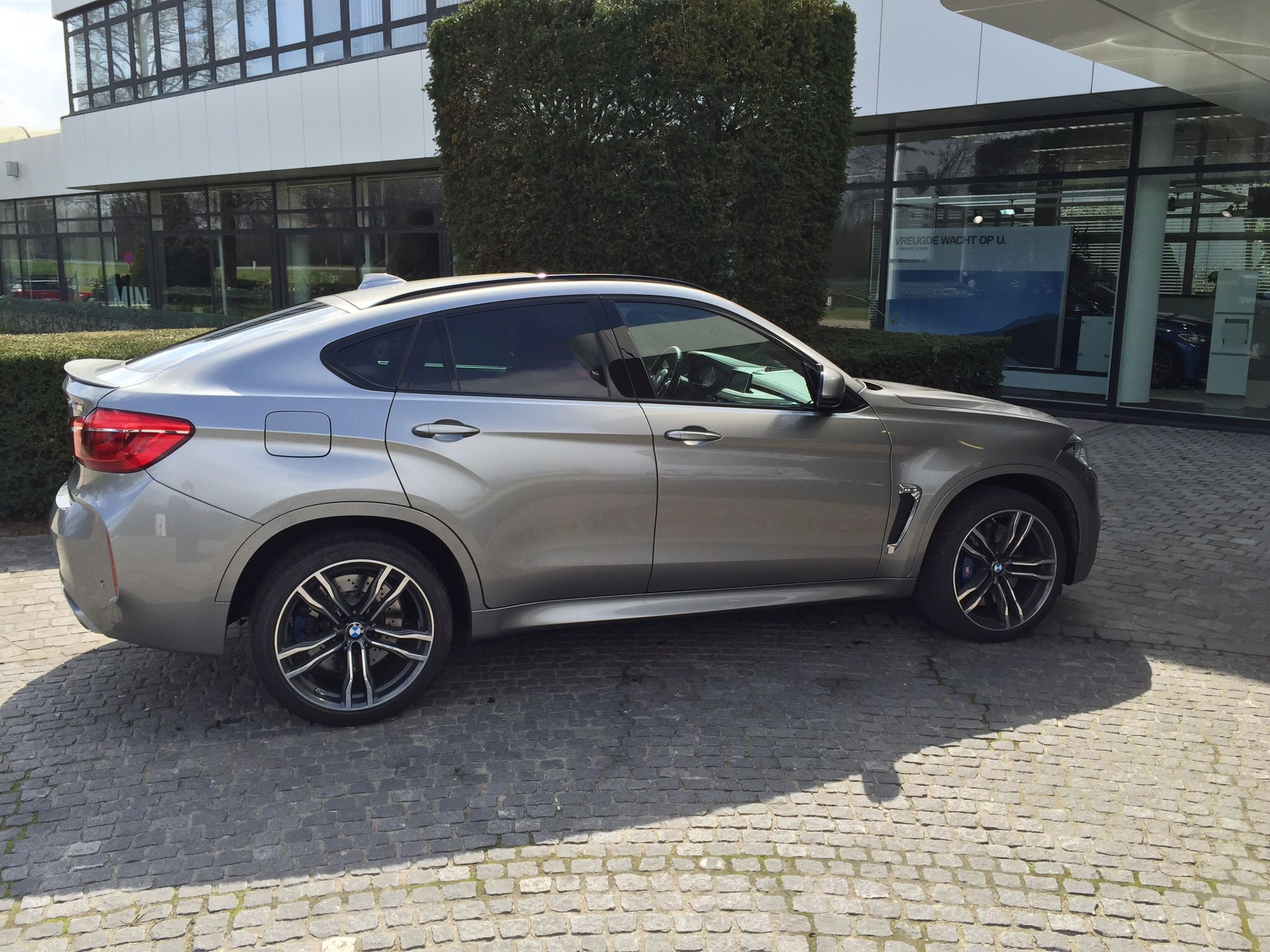 New Bmw X6m In Daytona Grey Love The Colour Cars Cars New
