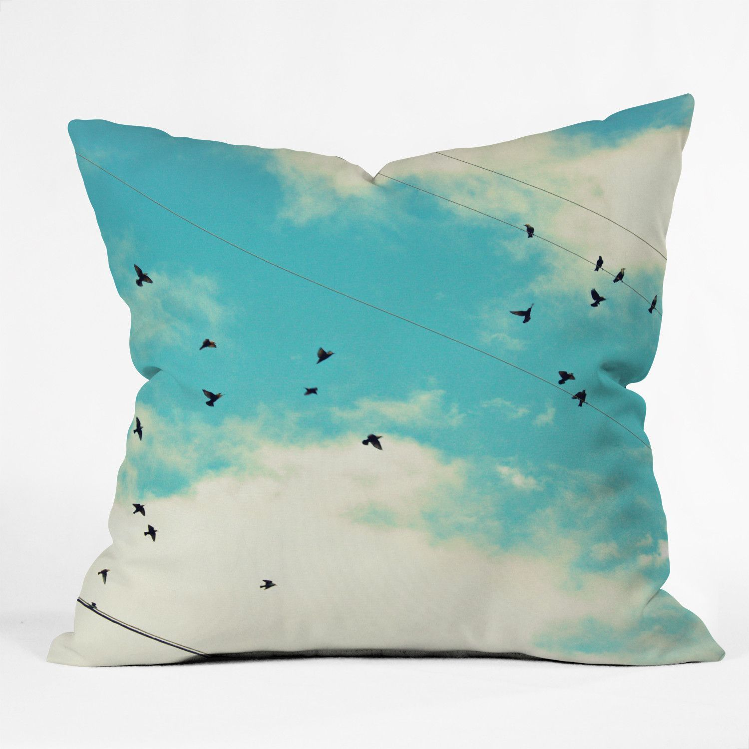 shannon clark blue skies ahead outdoor throw pillow  contemporary  outdoorcushions and pillows  by deny designs. shannon clark indooroutdoor throw pillow  products  pinterest
