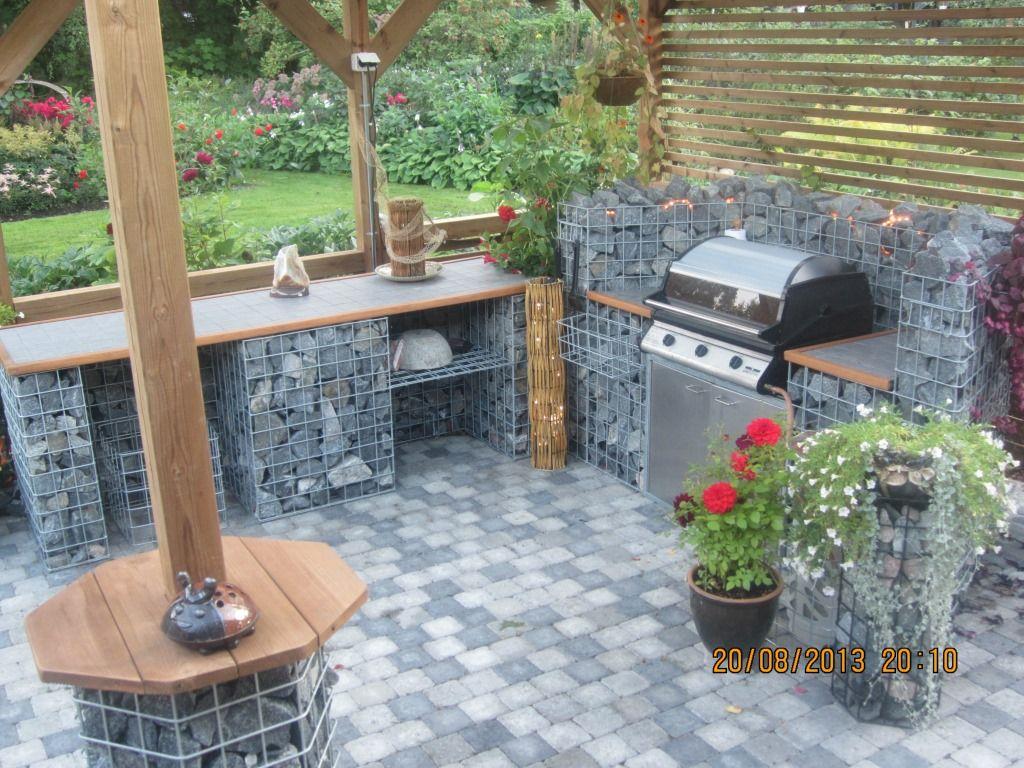 summer kitchen gabion pinterest summer kitchen outdoor