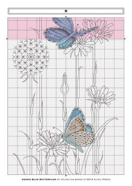 PUNTADITAS -- BUTTERFLY TRIO -- PG 6 OF 16