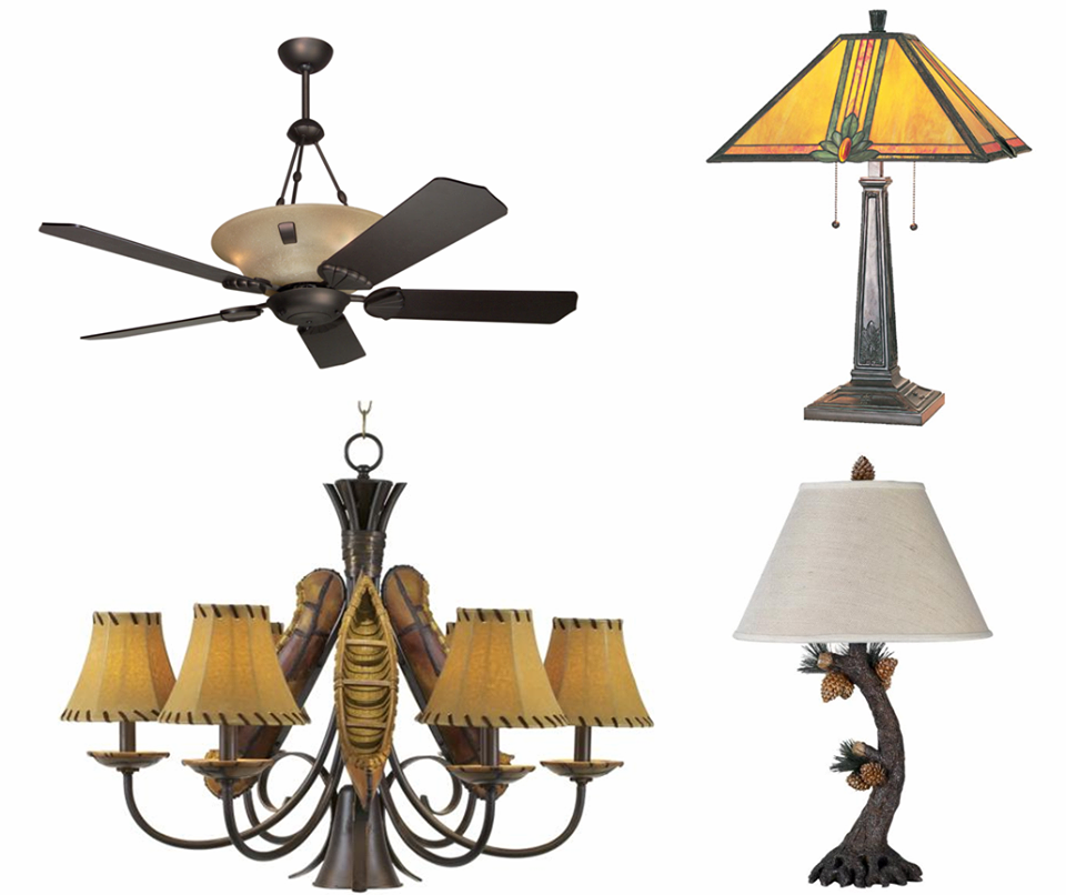 Interiors Is Your Lodge Style Lighting Headquarters