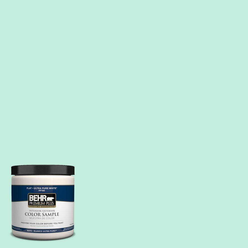 Wall Color BEHR Premium Plus Home Decorators Collection 8 Oz. Cotton Grey  Zero VOC Interior/Exterior Paint At The Home Depot