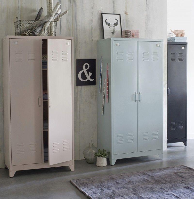 La Redoute Interieurs Plus De 70 Ambiances Deco Relooker Chambre Casiers Cru Armoire Metallique