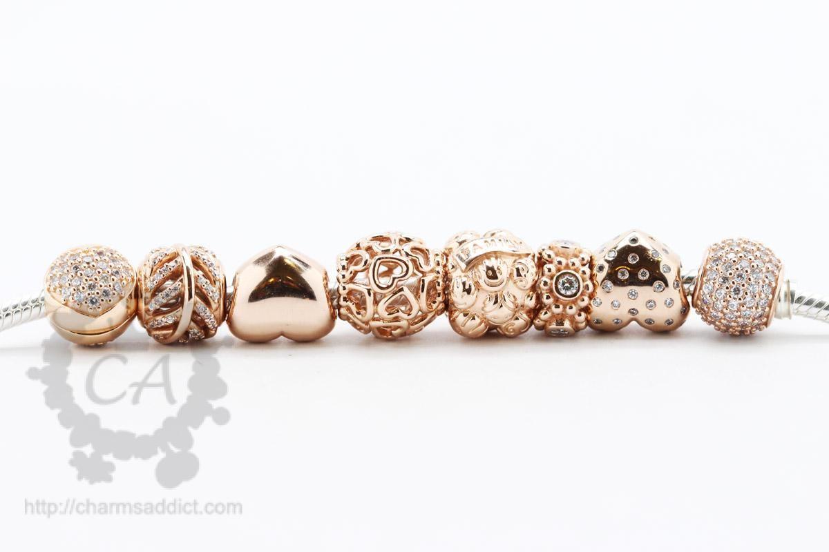 Pandora Rose Hearts Charm