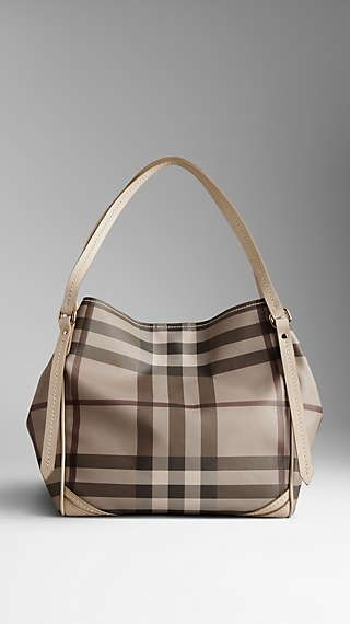 c0bd2e31e685 Small Smoked Check Saddlestitch Tote Bag