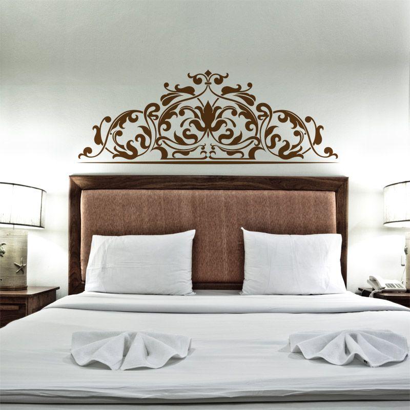 Stickers tête de lit burlesque - Décoration pour chambre glamour ...
