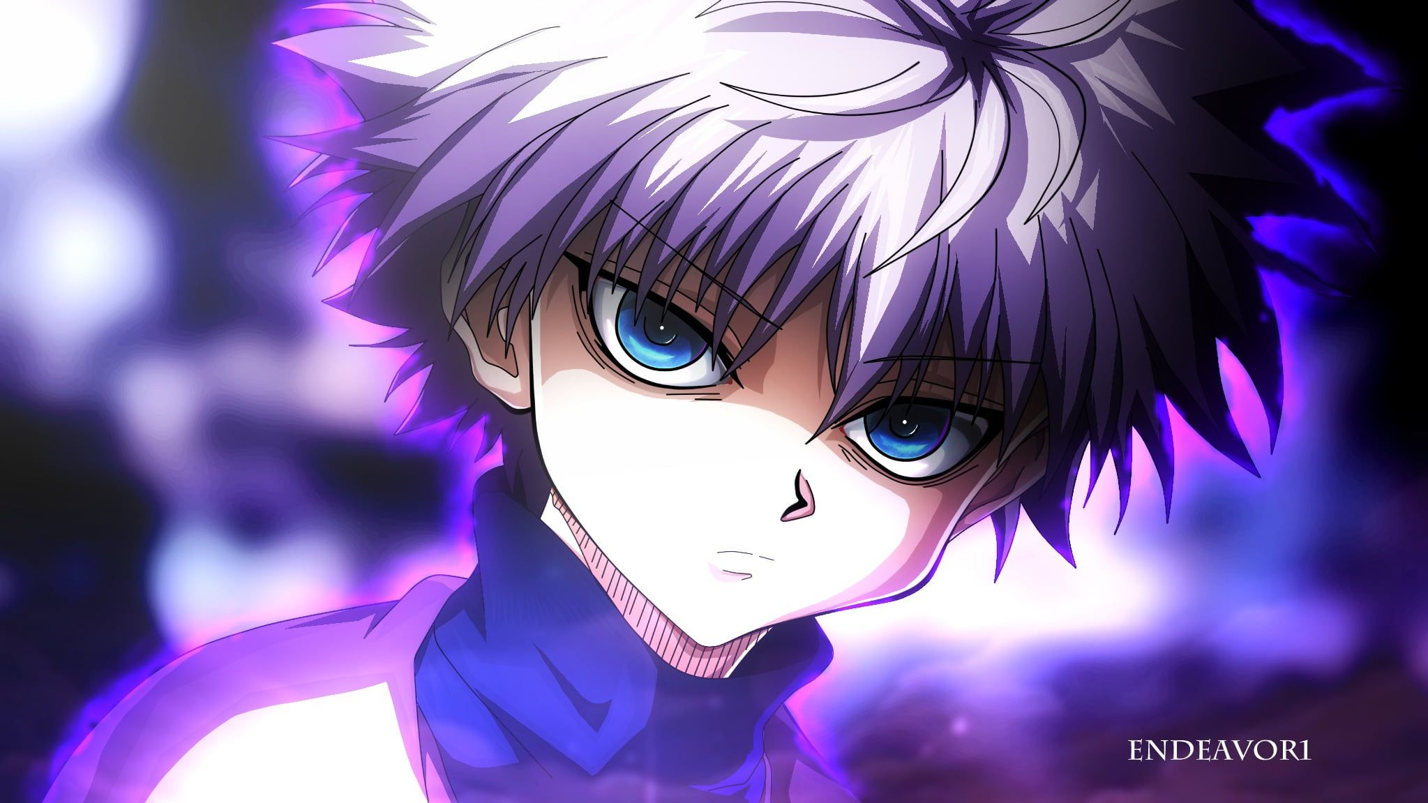 Anime Hunter X Hunter Killua Zoldyck 1080p Wallpaper Hdwallpaper Desktop In 2020 Yandere Manga Killua Hunter X Hunter