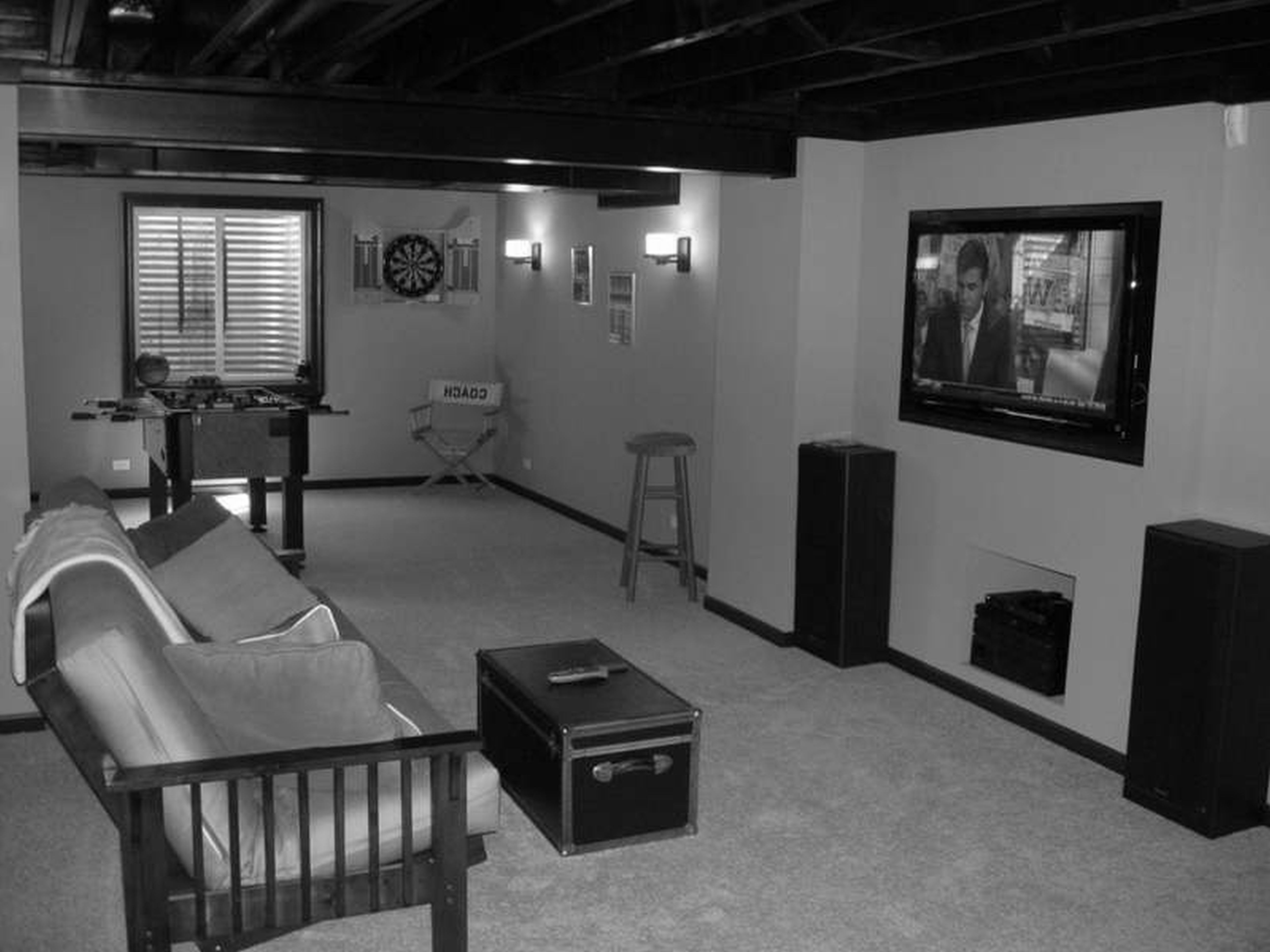 Ligthing Archaic Basement Remodels Industrial Ceiling