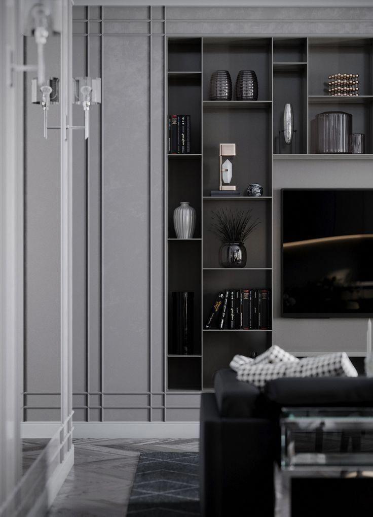 Kitchen And Living Room Interior Design: Living Room, Kitchen, Design Interior, Vizualization
