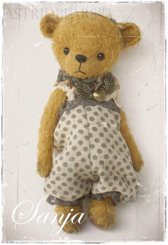 Медведь Pattern Саня 6,25 дюймовые epattern медведь PDF Astridbears от