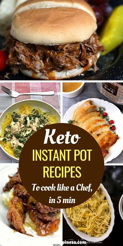 Instant Pot Recipes: The 7 Best Keto Recipes for Weight Loss #instantpotrecipeseasy