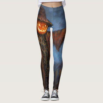 #scarecrow leggings - #Halloween #happyhalloween #festival #party #holiday