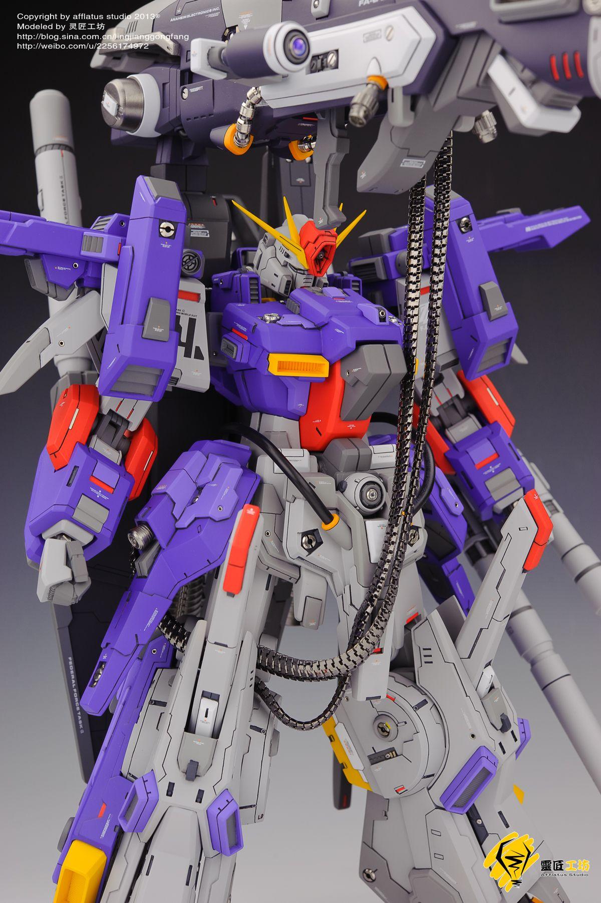 G System 1 72 Fa Zz Gundam Fa 010 Full Armor Modeled By Afflatus