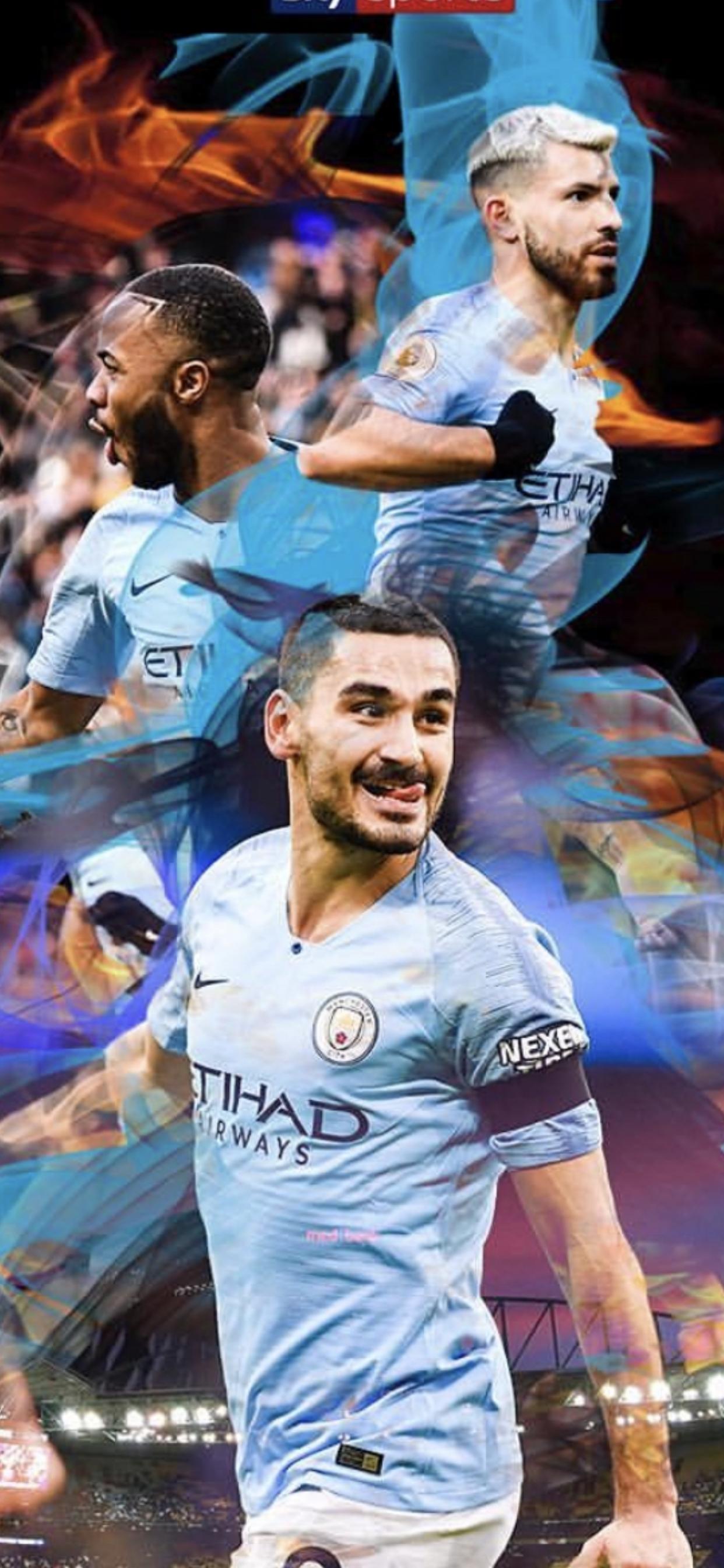 Man City 2019 Iphone Wallpaper Mcfc Mancity