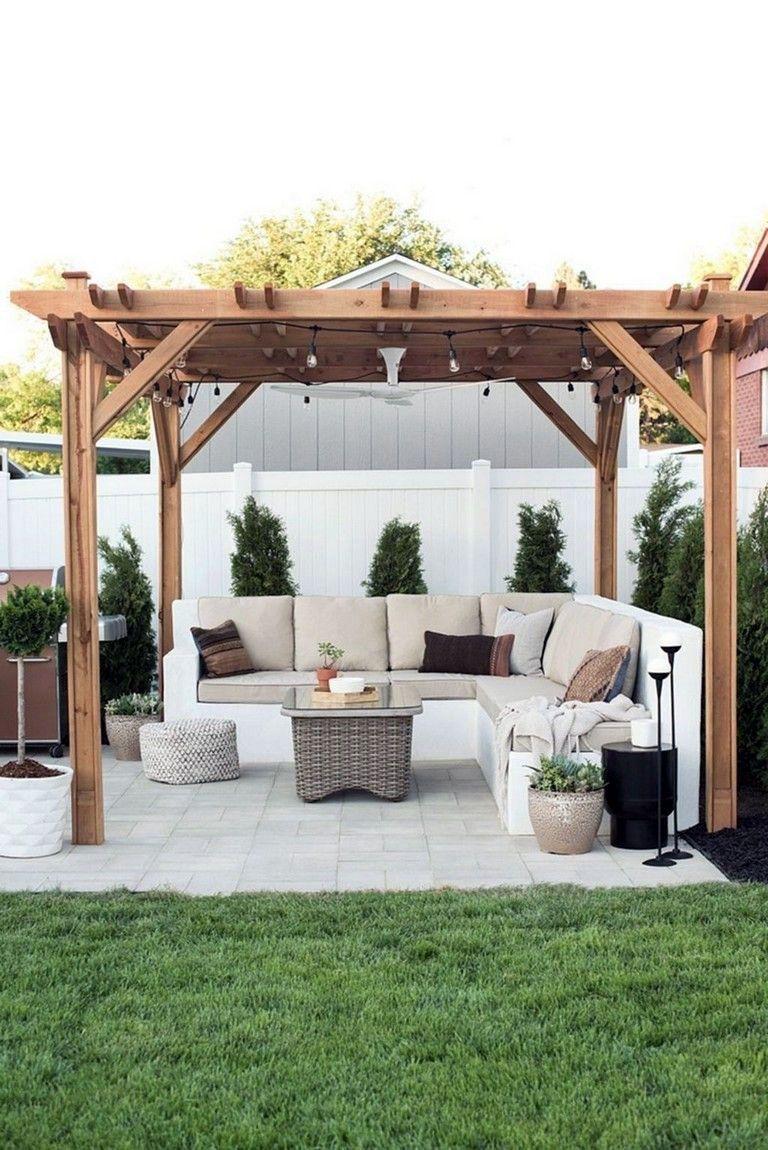 12 Genius Ways How To Make Backyard Gazebo Ideas Backyard Patio Designs Backyard Patio Backyard Pergola