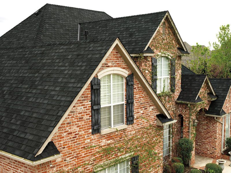 Charcoal Gaf Designer Roof Shingles Home Http Www Abedward Com House Paint Exterior House Exterior Shingling