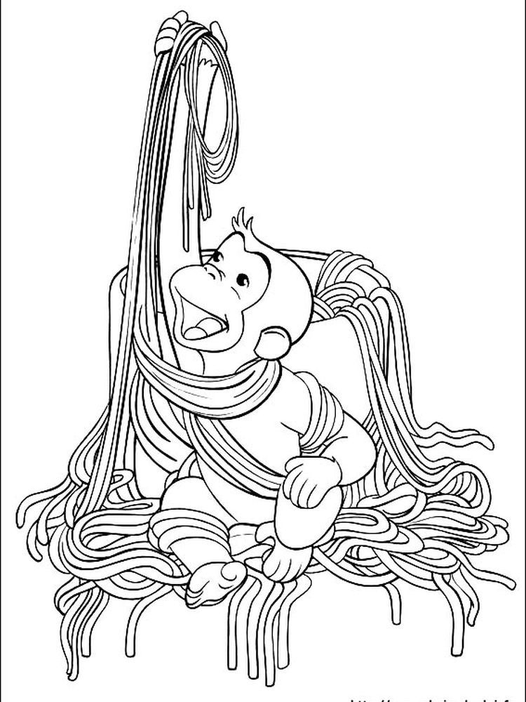 Coloring Page Of Curious George The Following Is Our Curious George Coloring Page Colle Curious George Coloring Pages Cartoon Coloring Pages Coloring Pictures