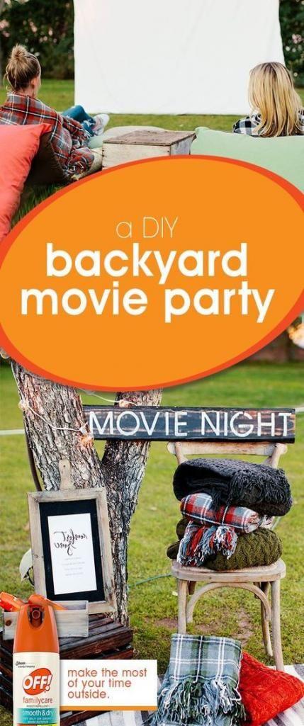 17 New ideas backyard party teens diy projects #diy # ...