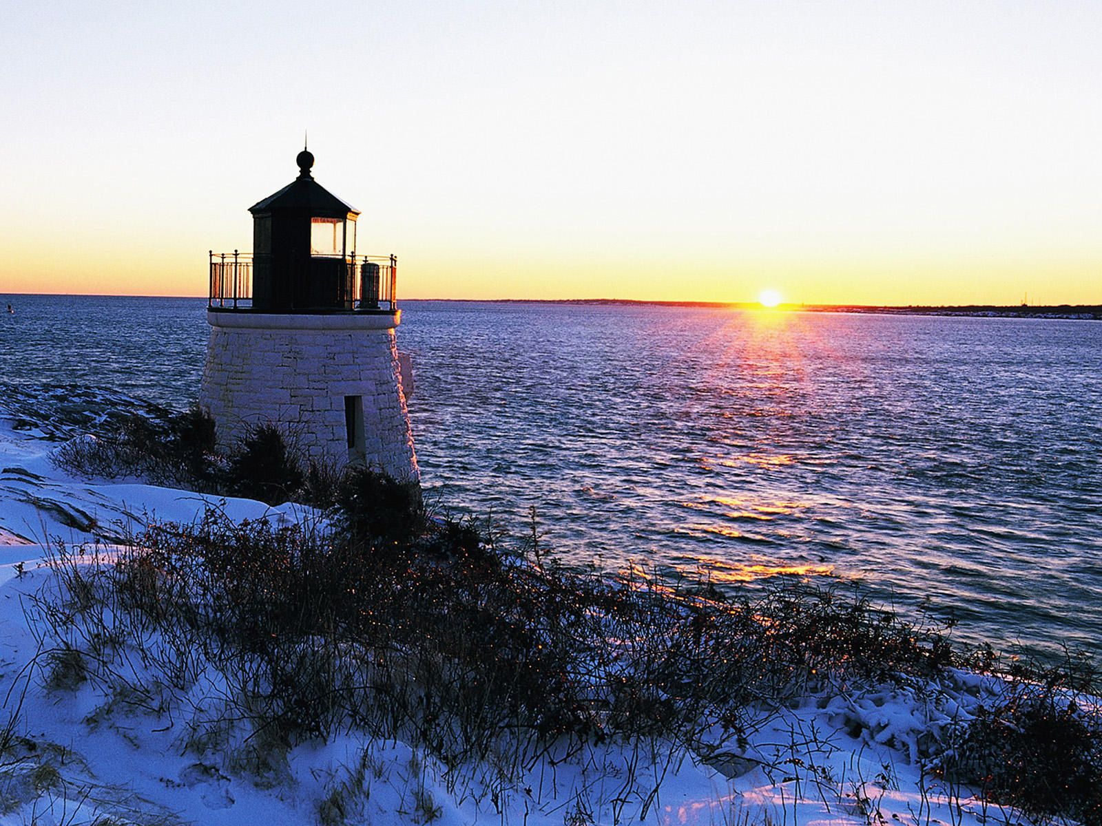 Scenic Views In Rhode Island