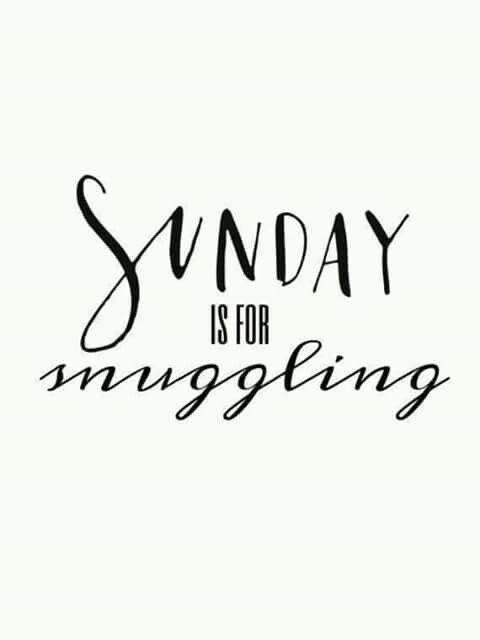 Sunday snuggling