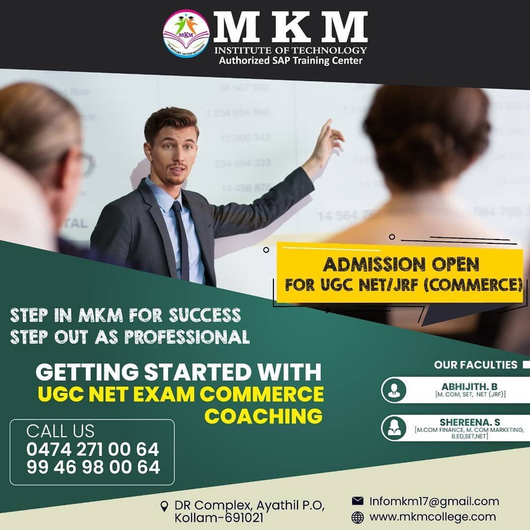 Admission Open For Ugc Net Jrf Commerce Coaching Limited Seats Only Hurry Ugc Net Coaching Sap Cours Social Media Poster Social Media Admissions Poster