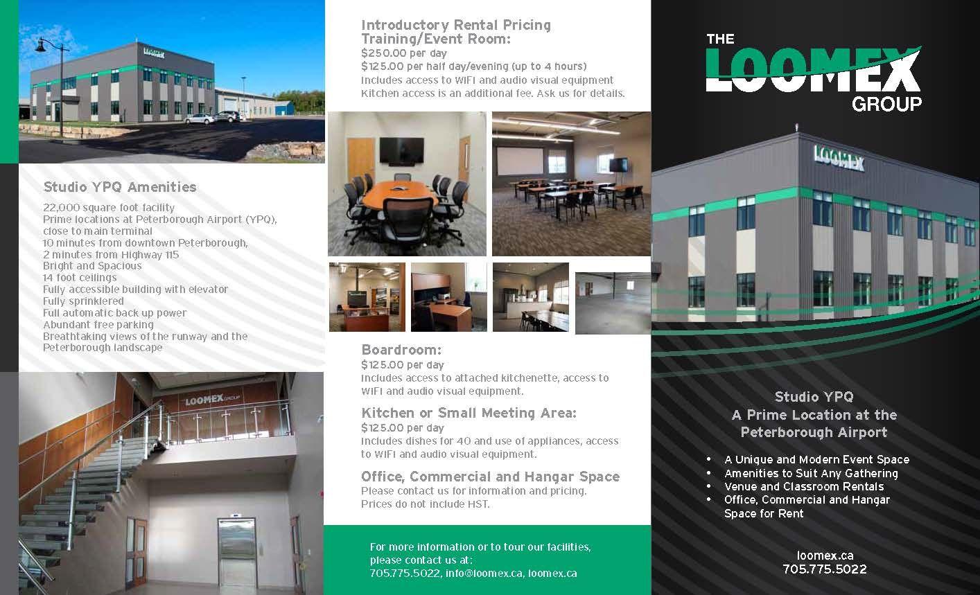 LoomexBuildingVenueBrochurePageJpg   Brochure