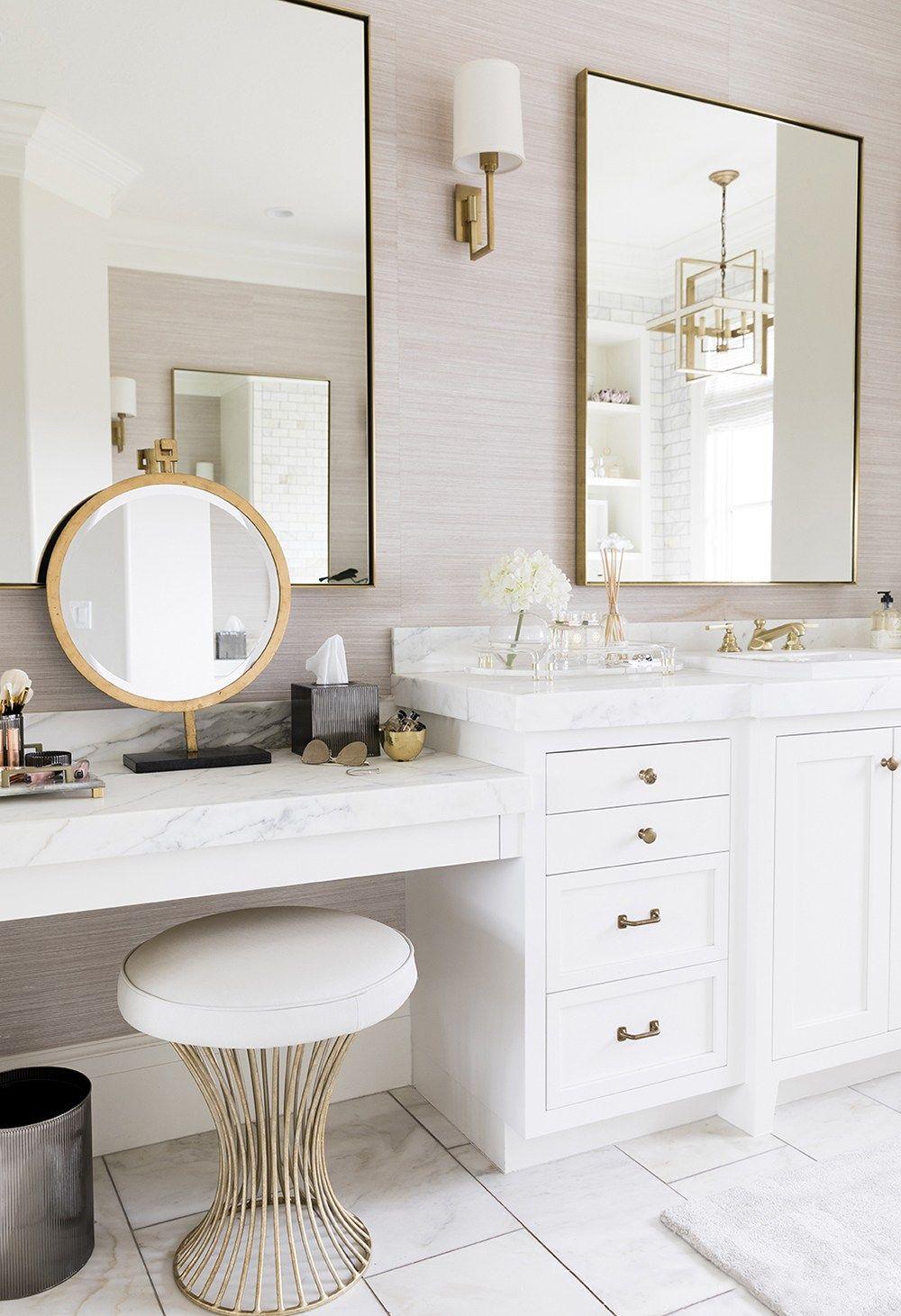 Roundup Waste Baskets Room For Tuesday Blog Bathroom Interior Design Master Bathroom Design Bathroom Vanity Designs [ jpg ]