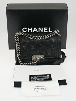 a4813917f5af Chanel Chesterfield Padding Quilted Iridescent Calfskin Leather Limited  Edition Boy Flap Shoulder Bag. Get one of the hottest styles of the season!