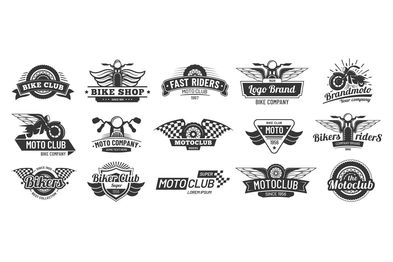 Biker Club Emblems Retro Motorcycle Rider Badges Moto Spor 1000379 Objects Design Bundles In 2021 Retro Motorcycle Biker Clubs Motorcycle Riders Motorcycle club patch template photoshop
