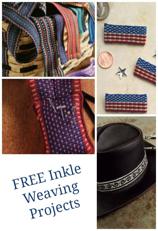 Fulled wool scarfs, bands, and necklaces - just a sample of the weaving projects you can download 100% free at Weaving Today. Get your copy of our inkle loom weaving guide and get started.