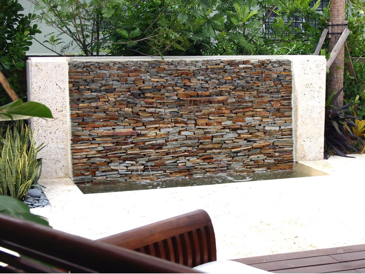 Stacked stone water feature - 17 Best Images About Front Yard Ideas On Pinterest Patio Garden Water Features And Walkways