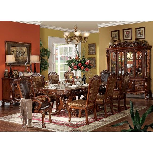 Formal Dining Room Dresden Formal Dining  Comedor Bellos Delectable Traditional Dining Room Sets Cherry Design Decoration