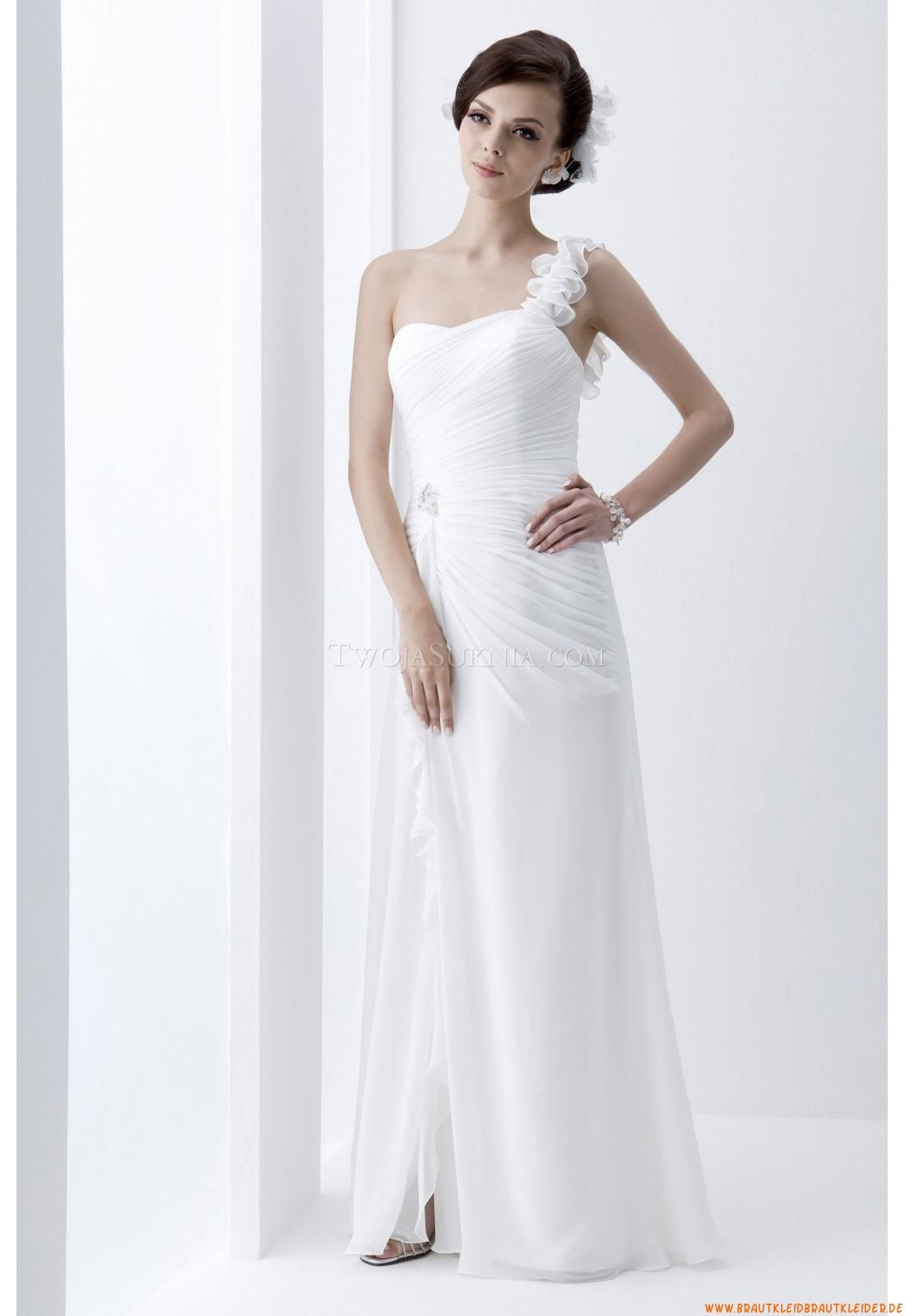 Klassisch Günstige Elegante Brautkleider aus Chiffon   brautkleider ...