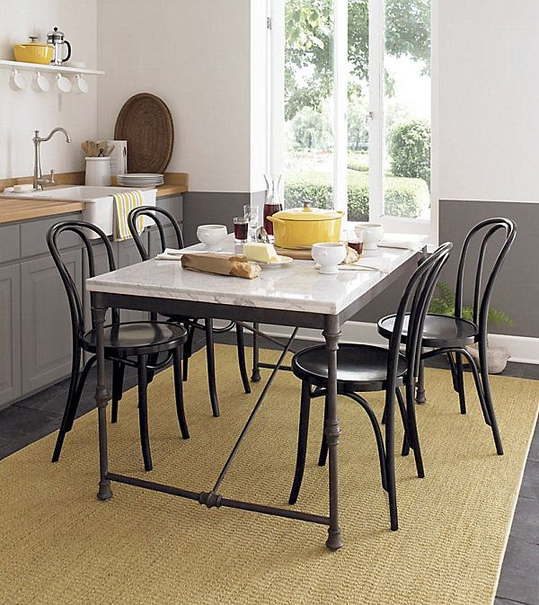 Chic Restaurant Tables And Chairs For The Modern Home Dining Table In Kitchen Restaurant Tables Chairs Bistro Kitchen