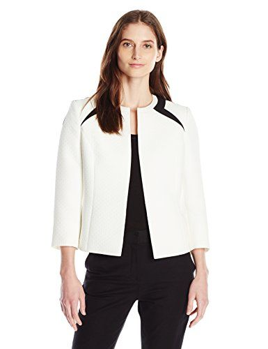 Kasper Women's Quilted Flyaway Jacket >>> You can find out more details at the link of the image.