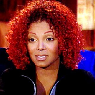 Image Result For Janet Jackson Red Hair Curly Hair Inspiration Hair Inspo Color Janet Jackson