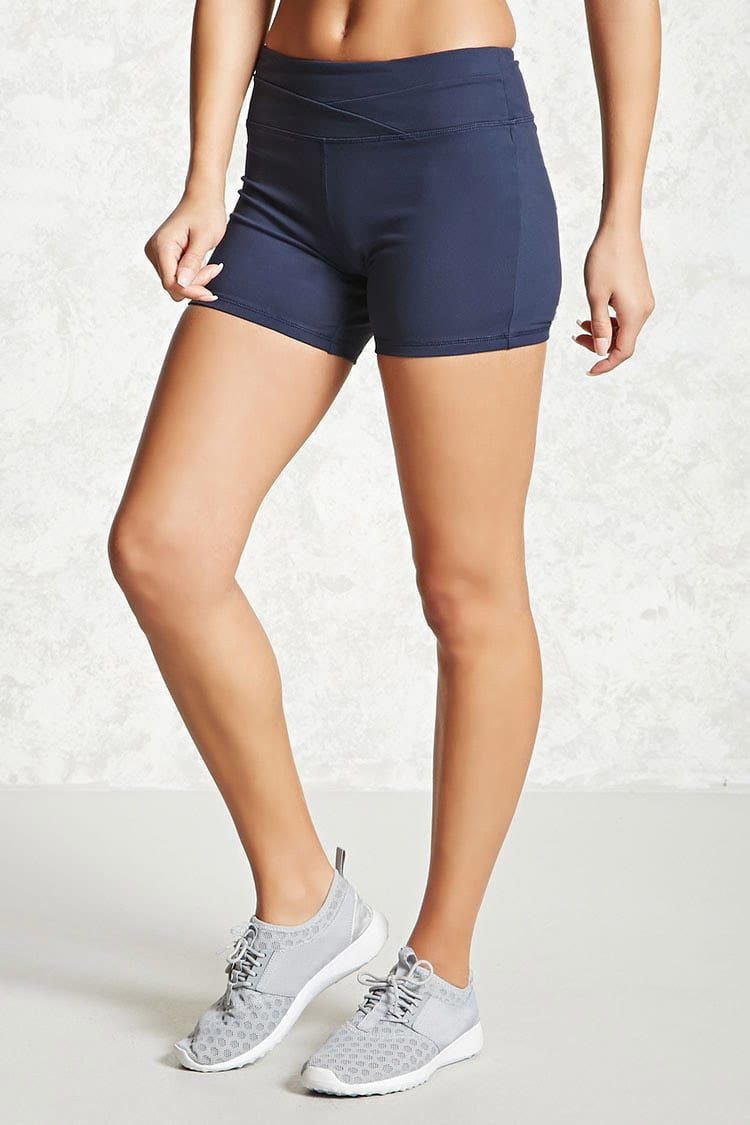 Active Stretch-Knit Shorts | Forever 21 - 2000225518